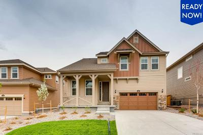 Castle Pines Single Family Home Under Contract: 212 Back Nine Drive