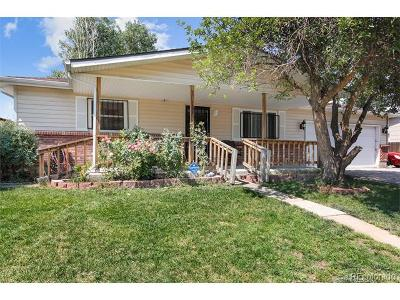 Denver Single Family Home Under Contract: 5549 Worchester Street