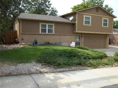 Arvada Single Family Home Active: 6753 Coors Street