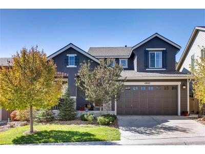 Highlands Ranch Single Family Home Active: 4882 Bluegate Lane