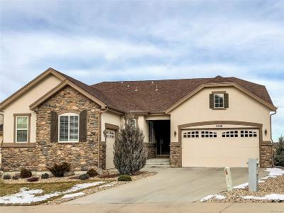 Castle Rock Single Family Home Under Contract: 2428 Tavern Way
