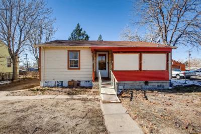 Commerce City Single Family Home Under Contract: 5481 Niagara Street