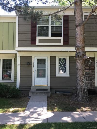 Aurora Condo/Townhouse Under Contract: 1268 South Idalia Street
