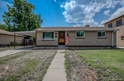 Arvada Single Family Home Active: 6832 West 53rd Place
