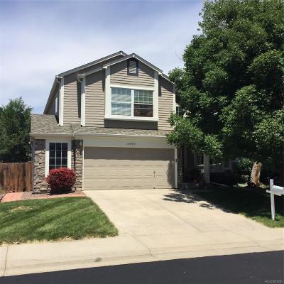 Castle Rock Single Family Home Active: 5369 East Hamilton Avenue