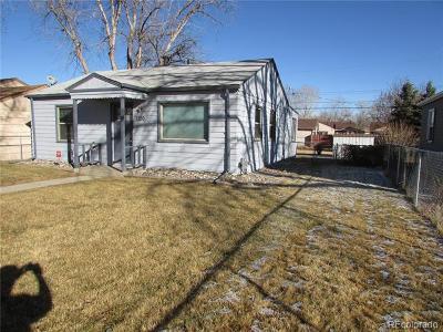 Denver Single Family Home Active: 1720 Verbena Street