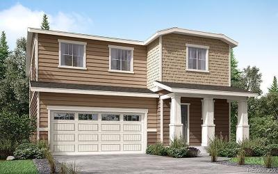 Castle Rock Single Family Home Under Contract: 3588 Evening Place
