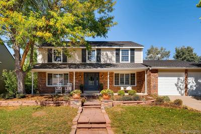 Centennial Single Family Home Active: 6227 East Long Place