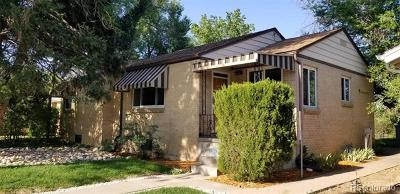 Denver Single Family Home Active: 2260 Poplar Street