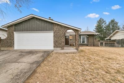 Centennial Single Family Home Under Contract: 4142 East Weaver Place