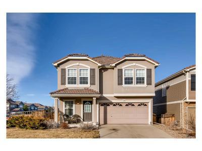 Castle Rock Single Family Home Under Contract: 4133 Alcazar Drive