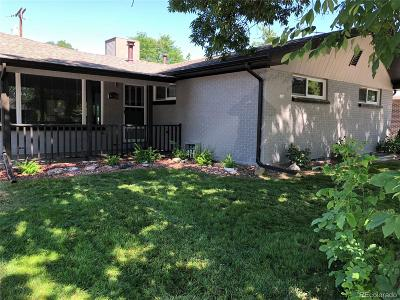 Arvada Single Family Home Active: 6755 Zephyr Street