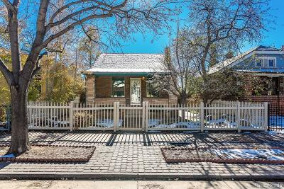 Denver Single Family Home Active: 162 West Archer Place