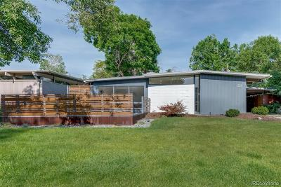 Denver Single Family Home Active: 1321 South Edison Way