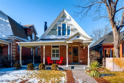 Denver Single Family Home Active: 551 South Pearl Street