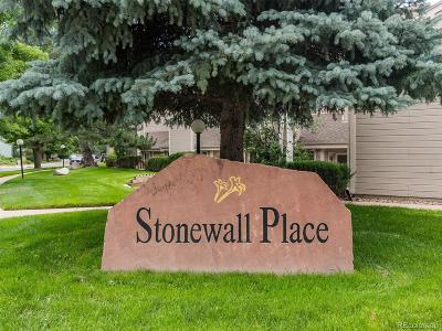 Boulder Condo/Townhouse Active: 5520 Stonewall Place #12