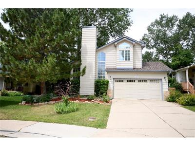 Littleton Single Family Home Active: 5617 South Simms Way