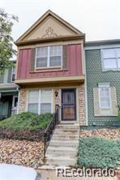 Aurora Condo/Townhouse Active: 11941 East Kepner Drive
