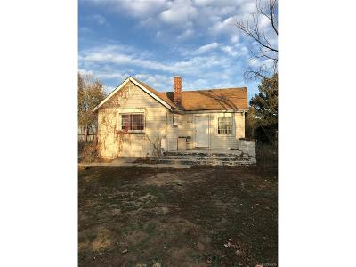 Commerce City Single Family Home Under Contract: 7030 Newport Street