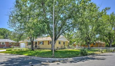 Golden Single Family Home Active: 13194 West 23rd Avenue