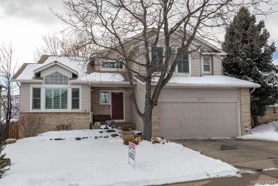 Littleton Single Family Home Under Contract: 6555 South Wright Street