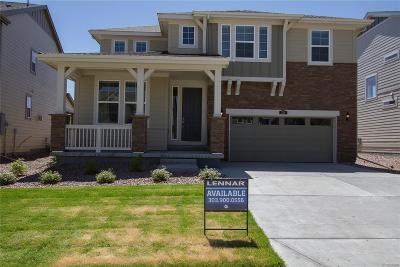 Castle Pines Single Family Home Under Contract: 236 Back Nine Drive