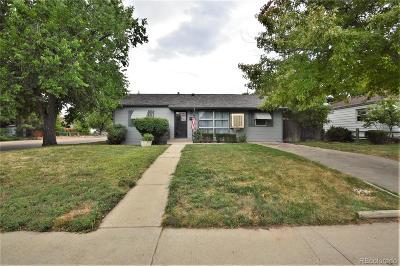 Aurora, Denver Single Family Home Under Contract: 830 Macon Street