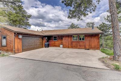 Golden, Lakewood, Arvada, Evergreen, Morrison Single Family Home Active: 10346 Horizon View Drive