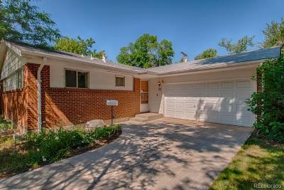 Boulder CO Single Family Home Active: $650,000