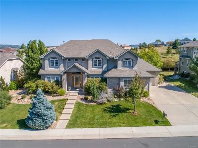 Castle Rock Single Family Home Under Contract: 3400 Elk Run Drive