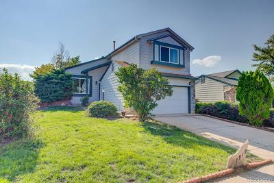 Littleton Single Family Home Under Contract: 7919 Jared Way