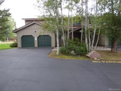 Steamboat Springs Condo/Townhouse Active: 1481 Creekside Court #101