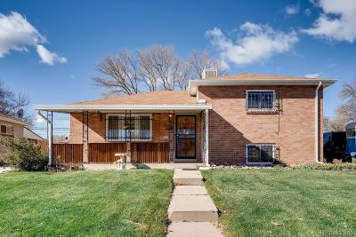 Denver Single Family Home Under Contract: 1621 South Winona Court
