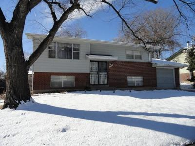 Northglenn Single Family Home Under Contract: 11509 Ogden Street