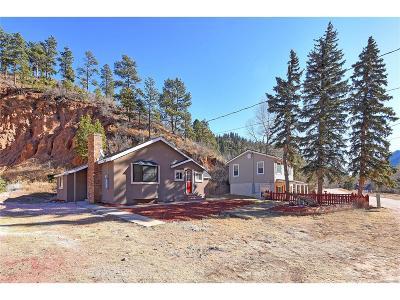 Green Mountain Falls Single Family Home Active: 10380 El Paso Avenue