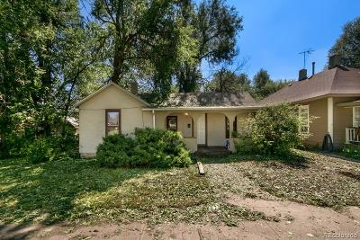 Greeley Single Family Home Active: 1512 10th Avenue