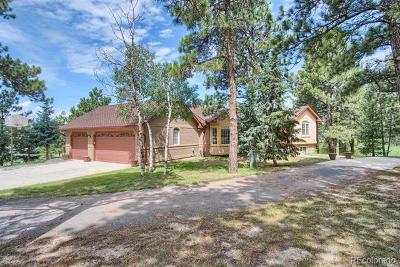 Colorado Springs Single Family Home Active: 18510 Woodhaven Drive