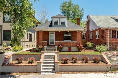 Washington Park Single Family Home Active: 804 South Ogden Street