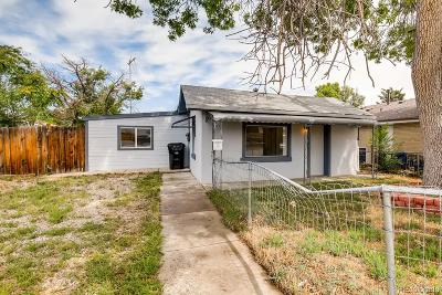 Denver Single Family Home Under Contract: 3401 West Walsh Place