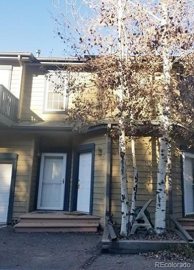 Conifer, Evergreen Condo/Townhouse Under Contract: 5077 Camel Heights Road #H