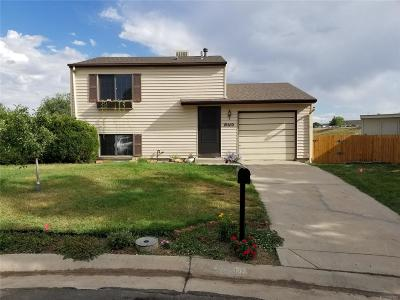 Broomfield Single Family Home Active: 10610 Moore Court