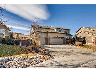 Castle Rock Single Family Home Under Contract: 2223 Tee Box Court