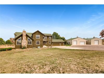 Elbert County Single Family Home Active: 40370 County Road 21