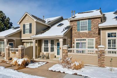 Castle Pines CO Condo/Townhouse Under Contract: $349,900