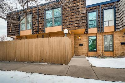 Arvada Condo/Townhouse Under Contract: 6450 Wright Street