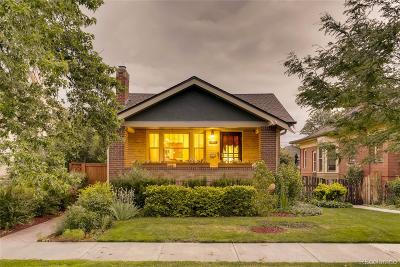 Denver Single Family Home Active: 1083 South Clarkson Street