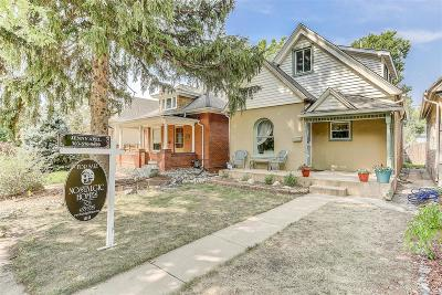 Denver Single Family Home Active: 3341 Quitman Street