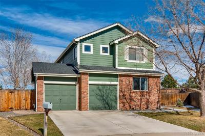 Broomfield County Single Family Home Active: 12698 Pronghorn Street