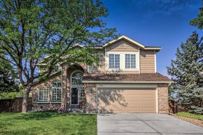 Highlands Ranch Single Family Home Under Contract: 1706 Hermosa Drive