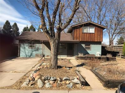 Denver Single Family Home Under Contract: 4659 West Cedar Avenue